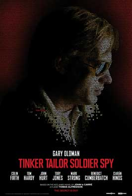 Tinker, Tailor, Soldier, Spy - 43 x 62 Movie Poster - Bus Shelter Style B