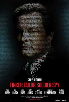Tinker, Tailor, Soldier, Spy - 43 x 62 Movie Poster - Bus Shelter Style C