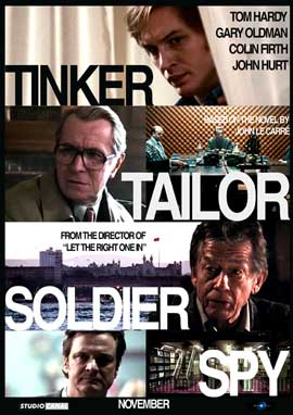Tinker, Tailor, Soldier, Spy - 27 x 40 Movie Poster - Style E
