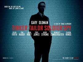 Tinker, Tailor, Soldier, Spy - 11 x 17 Movie Poster - UK Style A