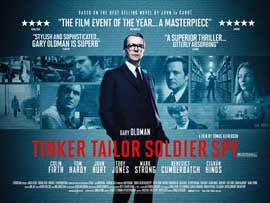 Tinker, Tailor, Soldier, Spy - 11 x 17 Movie Poster - UK Style B