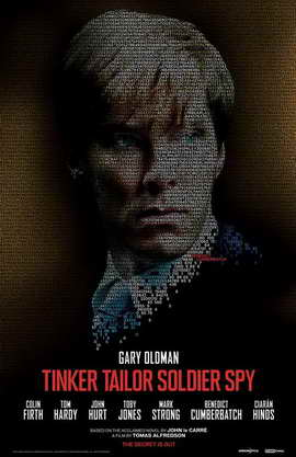 Tinker, Tailor, Soldier, Spy - 11 x 17 Movie Poster - Style F