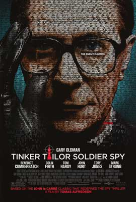 Tinker, Tailor, Soldier, Spy - DS 1 Sheet Movie Poster - Style A