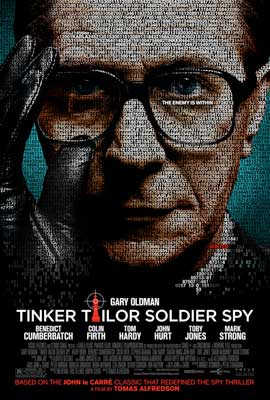 Tinker, Tailor, Soldier, Spy - 11 x 17 Movie Poster - Style G