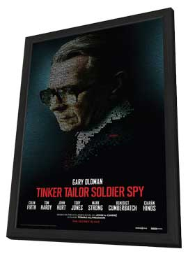 Tinker, Tailor, Soldier, Spy - 11 x 17 Movie Poster - Style A - in Deluxe Wood Frame