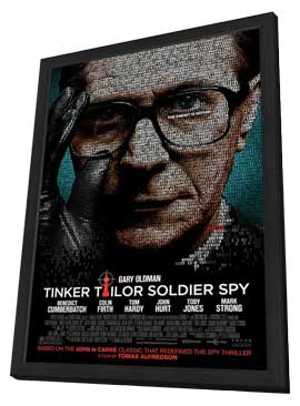 Tinker, Tailor, Soldier, Spy - 11 x 17 Movie Poster - Style G - in Deluxe Wood Frame