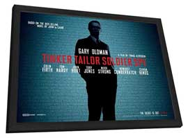 Tinker, Tailor, Soldier, Spy - 11 x 17 Movie Poster - UK Style A - in Deluxe Wood Frame