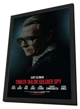Tinker, Tailor, Soldier, Spy - 27 x 40 Movie Poster - Style A - in Deluxe Wood Frame
