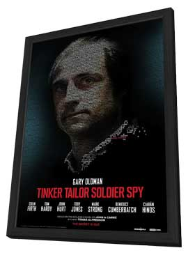 Tinker, Tailor, Soldier, Spy - 27 x 40 Movie Poster - Style B - in Deluxe Wood Frame