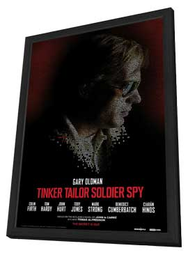 Tinker, Tailor, Soldier, Spy - 27 x 40 Movie Poster - Style C - in Deluxe Wood Frame