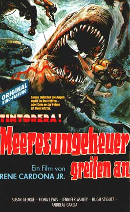 Tintorera: Killer Shark - 27 x 40 Movie Poster - German Style A