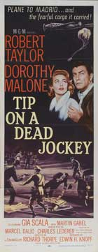 Tip on a Dead Jockey - 14 x 36 Movie Poster - Insert Style A