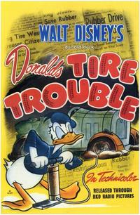 Tire Trouble - 11 x 17 Movie Poster - Style A