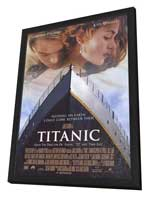 Titanic - 27 x 40 Movie Poster - Style A - in Deluxe Wood Frame