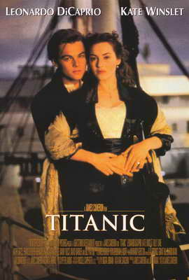 Titanic - 27 x 40 Movie Poster - Style A