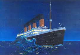 Titanic - 27 x 40 Movie Poster - Style H