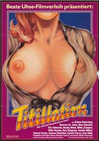 Titillation - 11 x 17 Movie Poster - German Style A