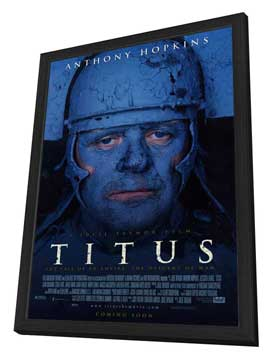 Titus - 27 x 40 Movie Poster - Style A - in Deluxe Wood Frame
