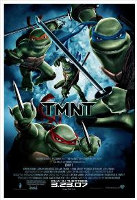 TMNT - 43 x 62 Movie Poster - Bus Shelter Style C