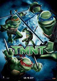 TMNT - 11 x 17 Movie Poster - German Style A