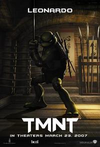 TMNT - 43 x 62 Movie Poster - Bus Shelter Style E