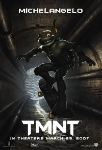 TMNT - 27 x 40 Movie Poster - Style F