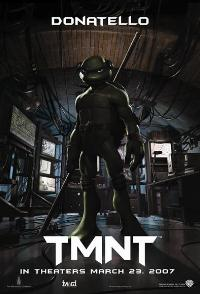 TMNT - 43 x 62 Movie Poster - Bus Shelter Style H