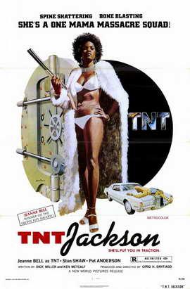 TNT Jackson - 11 x 17 Movie Poster - Style A