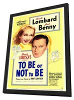 To Be or Not to Be - 11 x 17 Movie Poster - Style A - in Deluxe Wood Frame