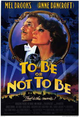 To Be or Not to Be - 27 x 40 Movie Poster - Style A