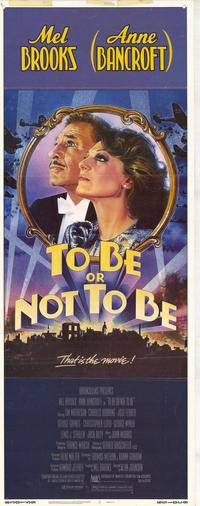 To Be or Not to Be - 14 x 36 Movie Poster - Insert Style A