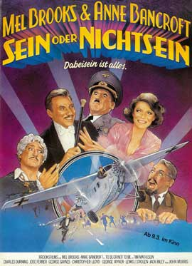 To Be or Not to Be - 27 x 40 Movie Poster - German Style A