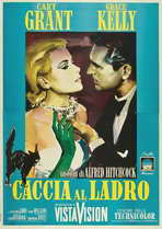 To Catch a Thief - 27 x 40 Movie Poster - Italian Style C