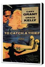 To Catch a Thief - 27 x 40 Movie Poster - Style A - Museum Wrapped Canvas