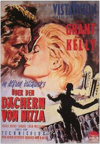 To Catch a Thief - 11 x 17 Movie Poster - German Style A