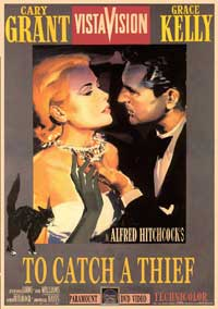 To Catch a Thief - 27 x 40 Movie Poster - Style B