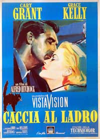 To Catch a Thief - 11 x 17 Movie Poster - Italian Style B