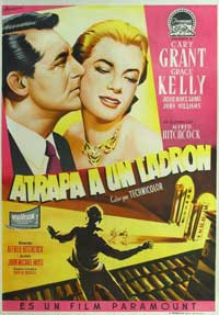 To Catch a Thief - 27 x 40 Movie Poster - Spanish Style A