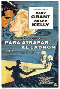 To Catch a Thief - 27 x 40 Movie Poster - Spanish Style B
