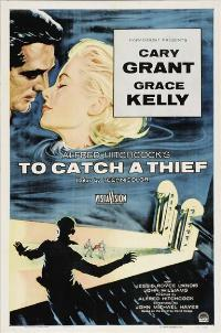 To Catch a Thief - 27 x 40 Movie Poster - Spanish Style F