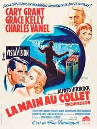 To Catch a Thief - 27 x 40 Movie Poster - French Style D