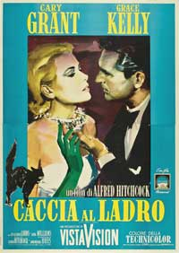 To Catch a Thief - 11 x 17 Movie Poster - Italian Style C