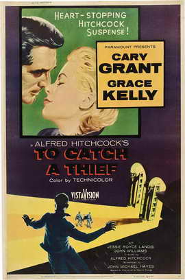 To Catch a Thief - 27 x 40 Movie Poster - Style F