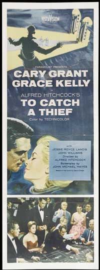 To Catch a Thief - 14 x 36 Movie Poster - Insert Style A