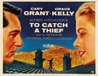 To Catch a Thief - 22 x 28 Movie Poster - Half Sheet Style B