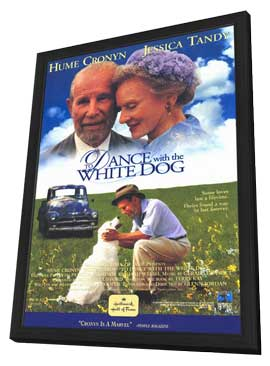 To Dance with the White Dog - 11 x 17 Movie Poster - Style A - in Deluxe Wood Frame