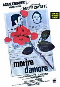 To Die of Love - 11 x 17 Movie Poster - Italian Style A