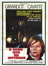 To Each His Hell - 27 x 40 Movie Poster - Italian Style A