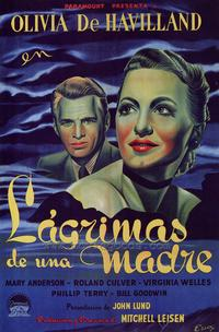 To Each His Own - 27 x 40 Movie Poster - Spanish Style A