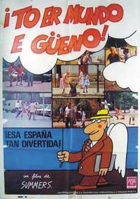 To er mundo e gueno - 11 x 17 Movie Poster - Spanish Style A